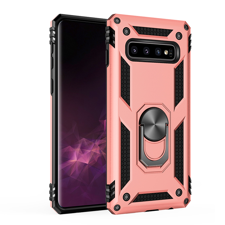 Shock Absorption TPU Phone Case with a Bracket The Phone case for Samsug Galaxy S10 Plus