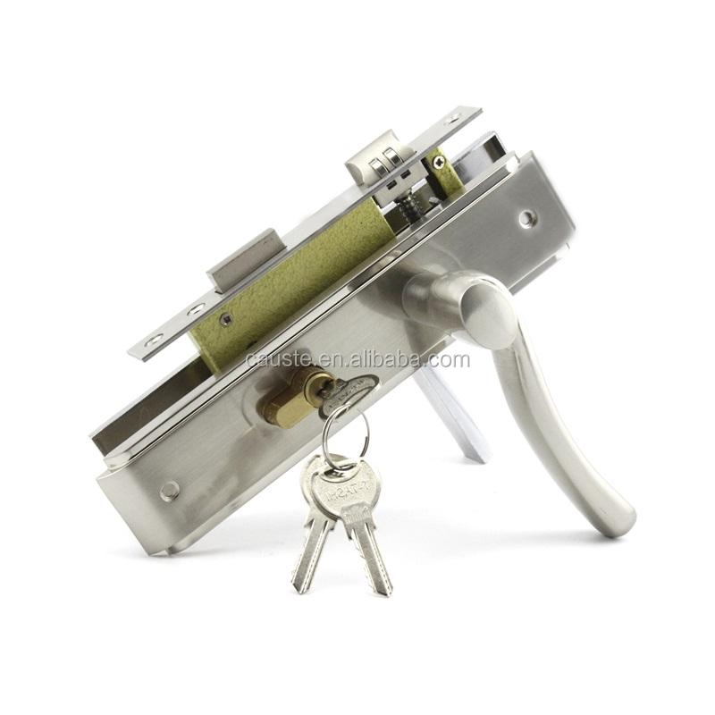 Cylindre en laiton moyen-orient ensemble de serrure de porte en acier inoxydable roulement serrures de porte