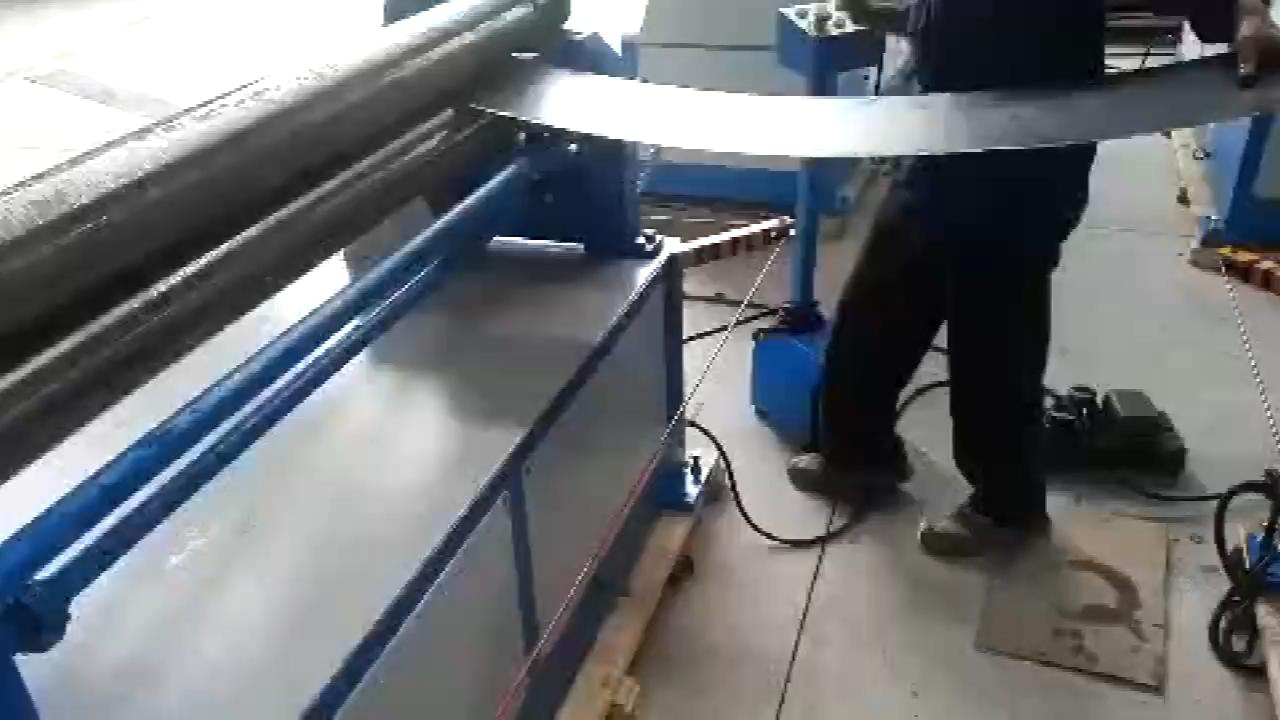 الكهربائية الميكانيكية 3 الأسطوانة الصفائح المعدنية لوحة أسطوانية الانحناء آلة ورقة آلة لف معادن