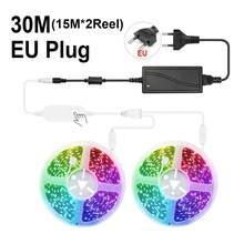 WIFI неоновый светильник 5050 умный RGB светильник s , Tuya комнатный декоративный светильник ing работа с Alexa Google Home, неоновый светодиодный диодный с...(Китай)