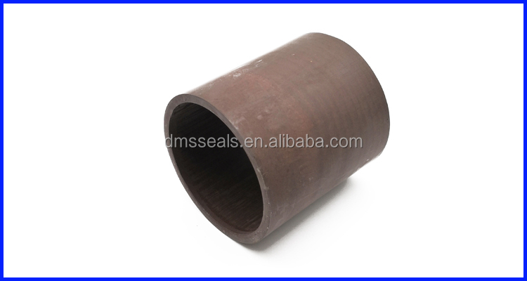 Bronze PTFE  Tubes Materials for Cut to CNC Lathe