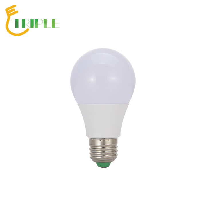 Triple Putih Aluminium E27 9 W LED Light Bulb B22 Dasar 15 W Lampu LED Bulb