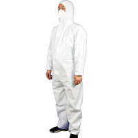 China hot sale safety pe disposable tyvek hospital protective clothing