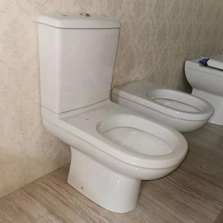 Made in china sanitary ware 2 piece elongated toilet