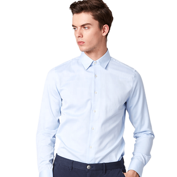 Oem high quality mens cotton shirts long sleeve formal shirts and pants combine mens dress shirts
