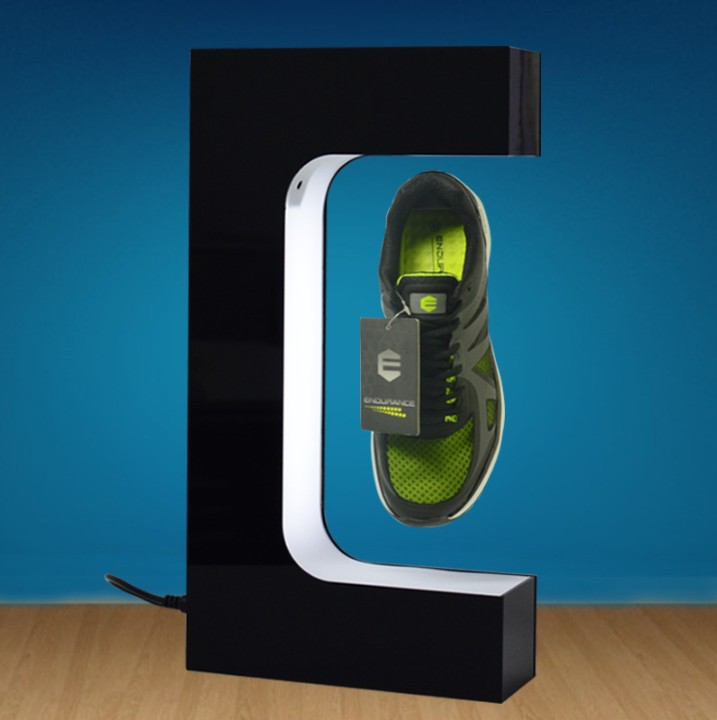 Hot Sale Magnetic Levitation Floating <strong>Display</strong> of Shoes, Levitation Sneaker <strong>Display</strong> Stand.