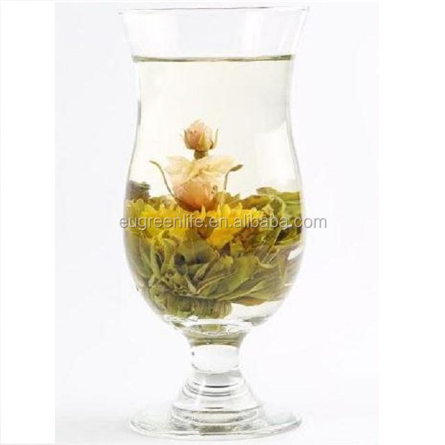 Eu standard artistic blooming tea eu & usda organic blooming tea dried honeysuckle blooming flower - 4uTea | 4uTea.com