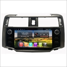 Newnavi 10,1 ''coche dvd gps 4G tarjeta <span class=keywords><strong>sim</strong></span> doble din android video del coche para Toyota 4runner reproductor multimedia de color gris