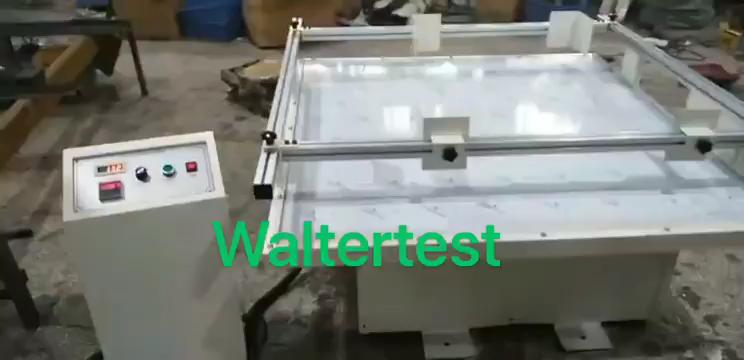 Simuladas transporte vibración máquina de prueba anti-vibración de la Mesa