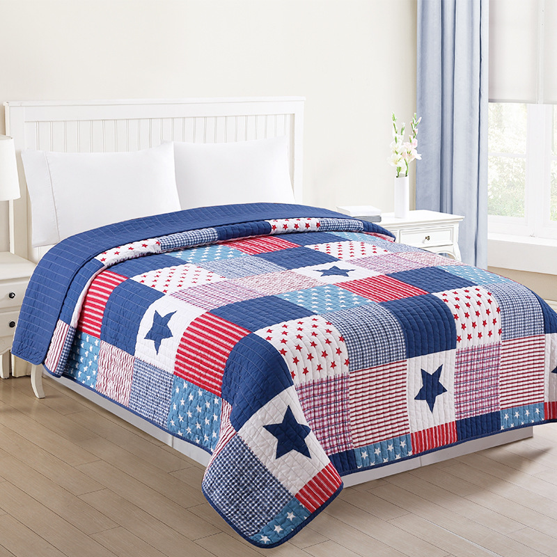 Queen <strong>Size</strong> Blue Duvet Comforter Baby Crib Bedding Cover <strong>Sets</strong>