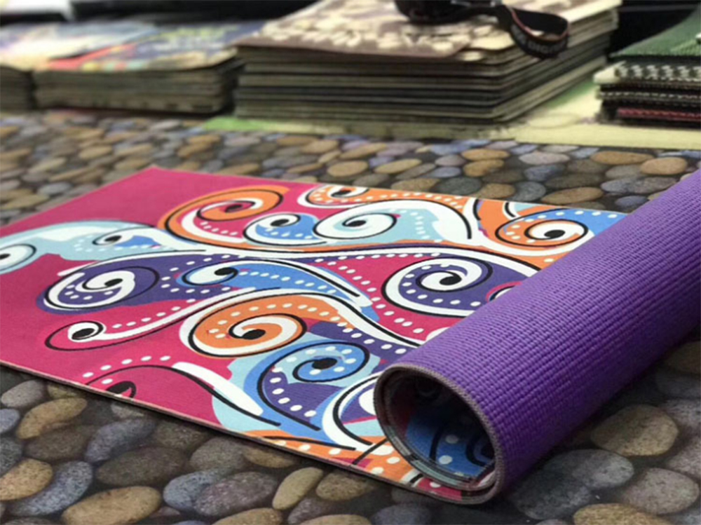Wholesale PVC Material Custom Logo Exercise Yoga Mat