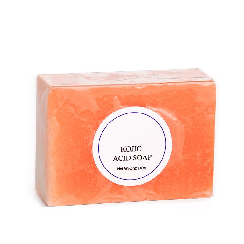Ze Light Wholesale OEM Private Label 140g Organic Kojic Acid Papaya Handmade Soap For Skin Whitening Lightening Kojic Acid Soap