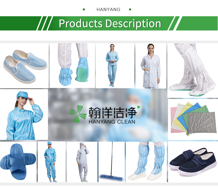 1000 class factory custom cleanroom worker suit non woven fabric antistatic esd coverall clean room clothes - KingCare | KingCare.net