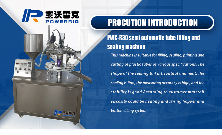 Semi automatic pharmaceutic cosmetics cream and ointment plastic soft tube filling sealing machine equipment
