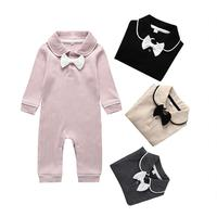 Autumn Toddler Baby Girl Clothes Knitted Long Sleeve Romper Jumpsuit Overall Cute Fall Winter Outfit