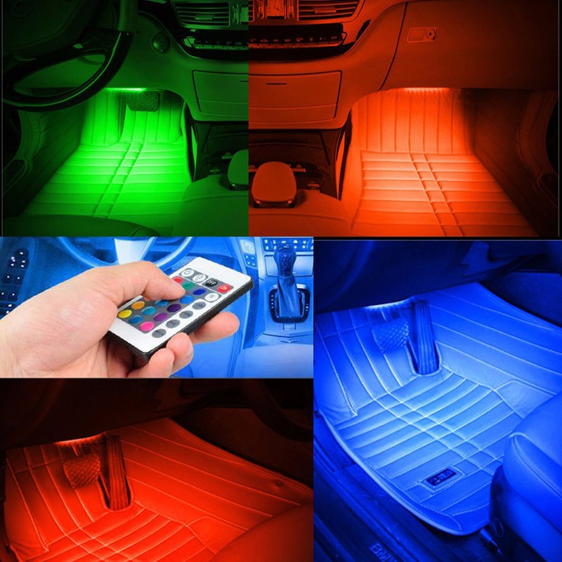 Flexible Million Color SMD LED Interior Lighting Kit  Smartphone Control led atmosphere lamp