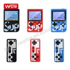 Hot Deal [ Video Game Console Games ] Handheld Double Player Video Game Console 8 Bit Sup Retro 400 Games Wholesale