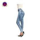 Professional new style fashion women jeans in skin tight jeans