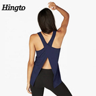 Wholesale Tank Top Bodybuilding Tank Top Fitness Gym Cross Back Sleeveless Women Yoga Custom Tank Top