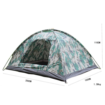 Outdoor Double Layer Waterproof Military Family Camping Automatic Tent