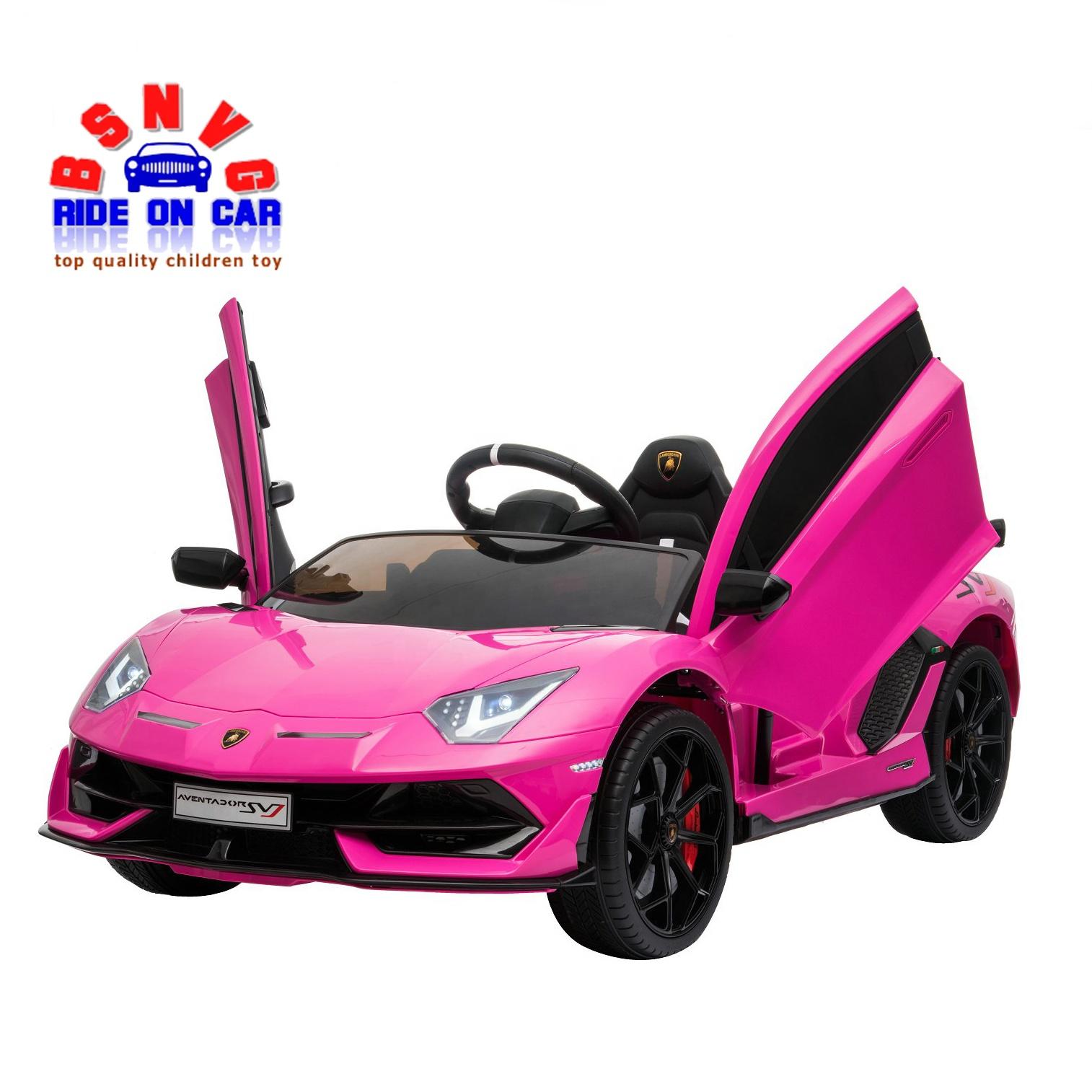 Baby Girl Pink Licensed Lamborghini Sjv Electric Car Buy Baby