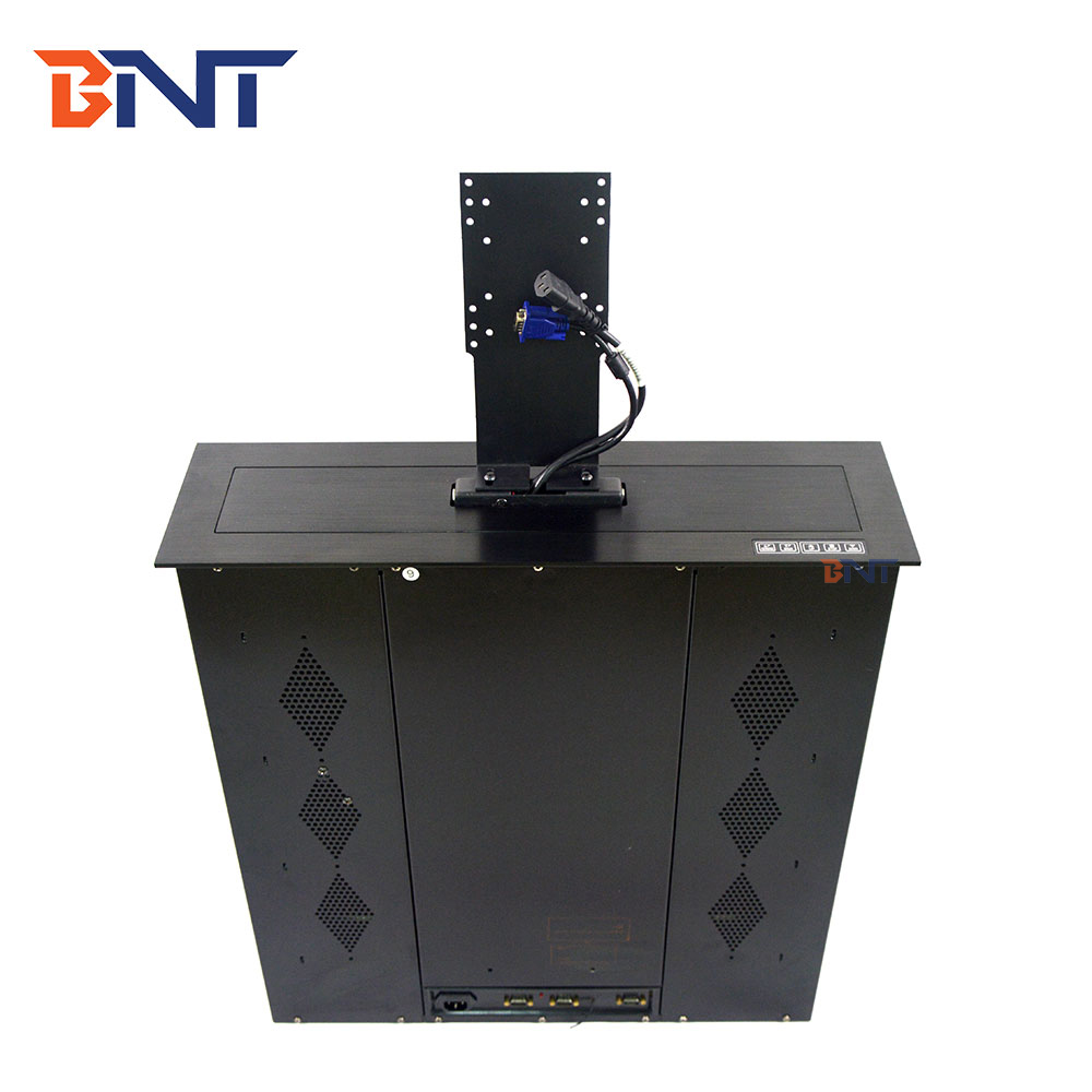 2019 BNT 17.3 inch audio visuele tafel lift systeem video conferentie systeem