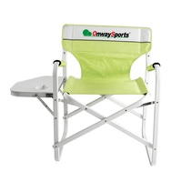 Onwaysports promotional extra tall directors chair for camping club