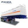 Panda 45000liter 48000 liters Fuel Oil Diesel Petrol Transport Tanker Semi Trailer for Sale