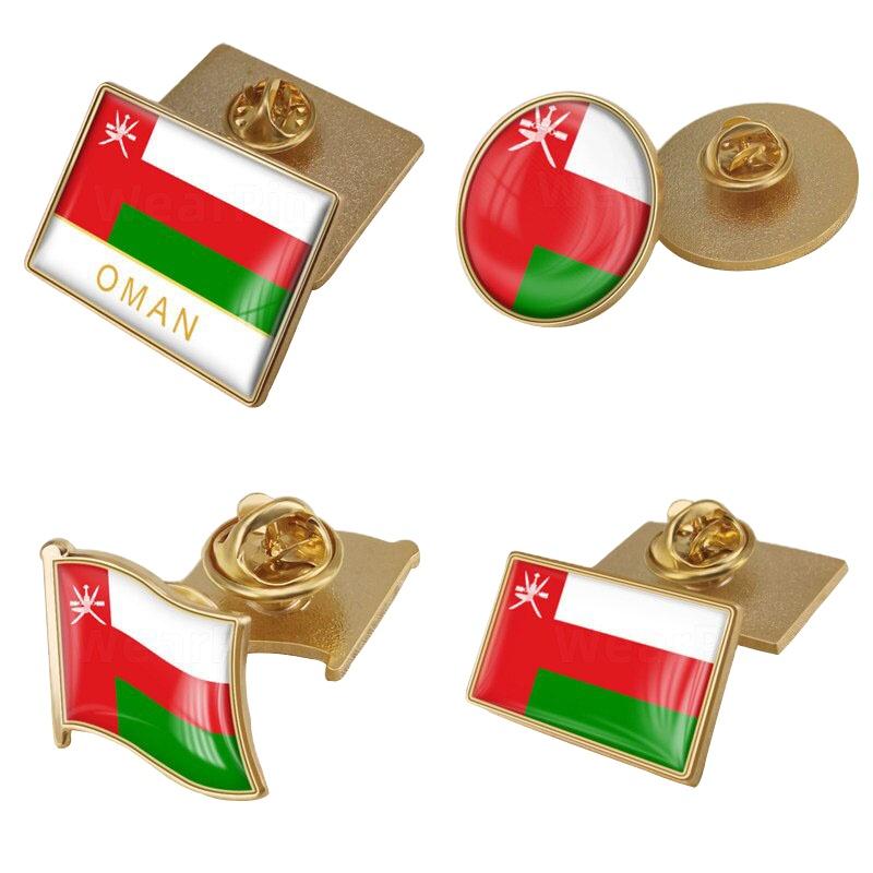 Hoge Kwaliteit Custom Logo Bahrein En Gepersonaliseerde Ronde Art Revers Pin Metalen Badge