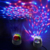 Mini Disco LightแบบพกพาHome Party Light 5Vแบตเตอรี่Powered Led Stage Party Ball DJ Lighting