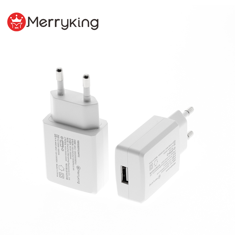 Koreaanse plug ac dc schakelende adapter 5V 1A 1.2A 2A 10W universal travel usb wall charger met KC KCC