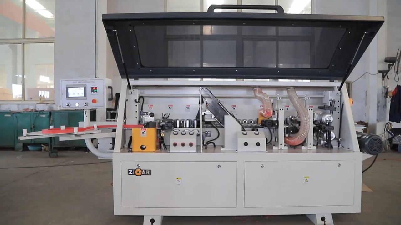 ZICAR High-accuracy MF50G edging machine pvc edge banding machine woodworking