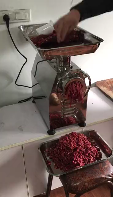 Stainless Steel Meat Grinder Machine Electric Meat Grinder