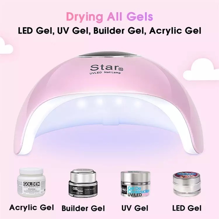 Star 6 Bsci Cute Uv Lanel Led Heat Kid  Nail Dryer