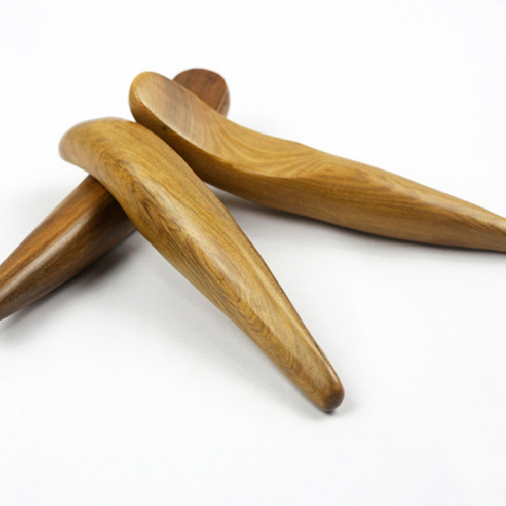 Chinese factory Chinese traditional acupuncture massage guasha Wooden scraping stick tool Wooden Massager Guasha