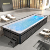 above ground surf pool china rectangular/ above ground swimming pool designs