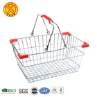 New High Quality Design Chrome Plated supermarket metal shopping basket