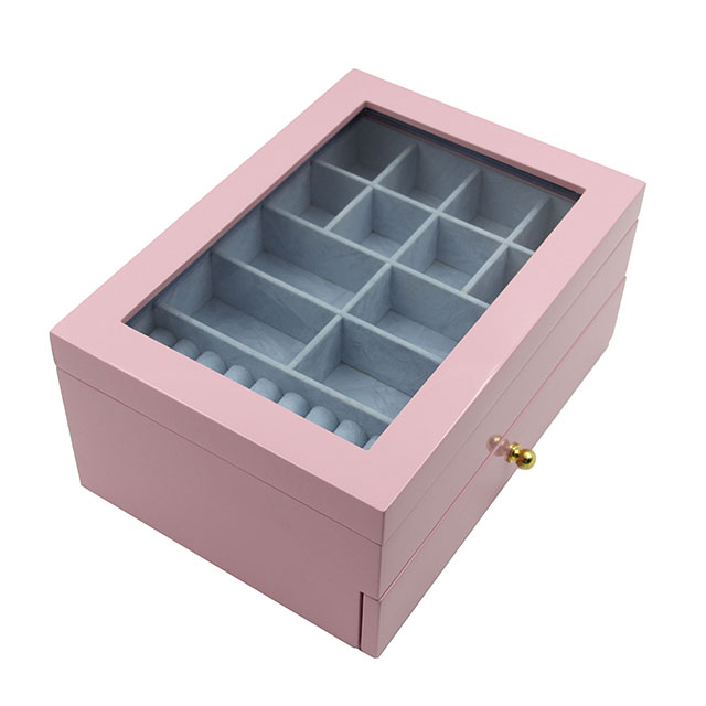 Top Quality 2020 New design with custom logo jewelry drawer set gift boxes