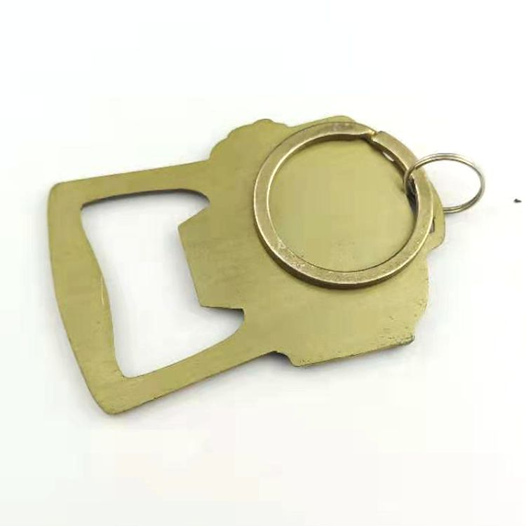 High quality gold silver  metal gun beer bottle opener