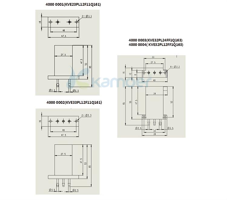 Kamoer digital timer water pump controller Solenoid Valve use in Analser/Strong acid/oxidized liquid