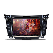 Android Auto DVD player GPS Navigation Kopf einheit Für I30 Elantra GT <span class=keywords><strong>2012</strong></span> + Multimedia-player radio band recorder