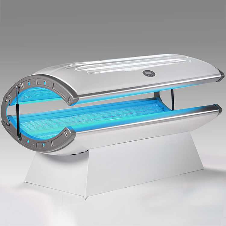 Mini Vertical Aluminum Facial Solarium Tanning Machine
