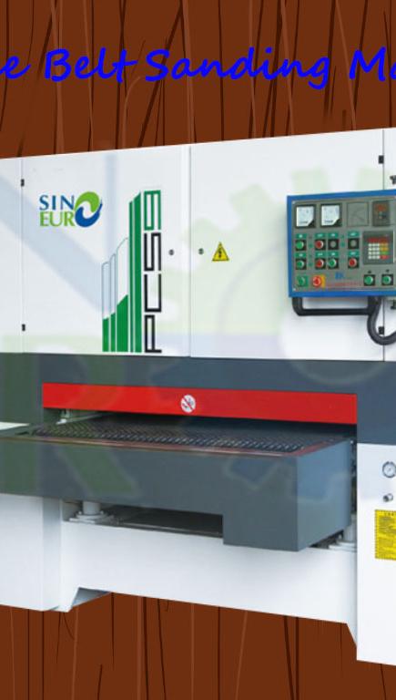 Sinoeuro Promotie Houtbewerking Machine Multiplex Kalibratie Schuren Machine Brede Bandschuurmachine Machine