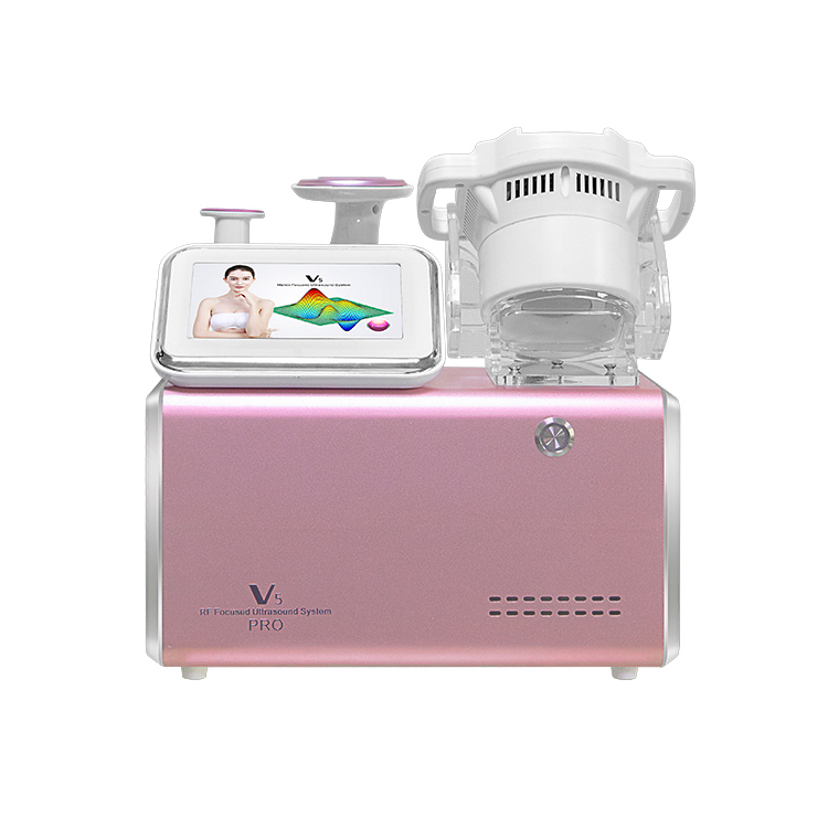 V5 HIFU Cavitation Vacuum  RF Slimming Machine display
