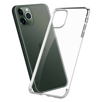 Ultra Slim Fit Protective Electroplated Clear TPU Phone Case For iPhone 11 Pro Max 6.5  Inch 2019 Newest