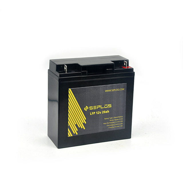 Rechargeable kids battery China supplier Seplos deep cycle 6 dzm 10 e bike battery 12 <strong>v</strong> 65ah