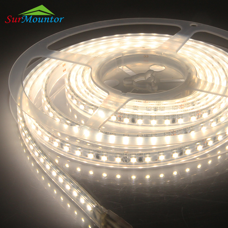 High Quality SMD 2835 Waterproof LED Strip Light Flexible PCB 10mm LED Light 14.4W/M 5M/roll