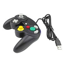Drop Verschiffen Gamecube Für NGC Controller GC Port PC USB Wired Gamepad Joypad Joystick Für <span class=keywords><strong>Nintendo</strong></span> Für MAC <span class=keywords><strong>Computer</strong></span>