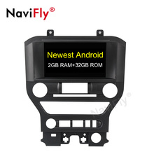 NaviFly Android 9.1 Quad-core <span class=keywords><strong>2</strong></span> + 32G <span class=keywords><strong>8</strong></span> <span class=keywords><strong>pollici</strong></span> Auto <span class=keywords><strong>Lettore</strong></span> DVD Video Car Audio per Ford mustang <span class=keywords><strong>lettore</strong></span> video audio stereo