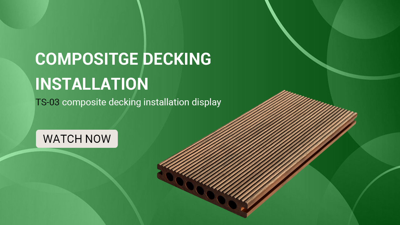 China Supplier Prefabricated Wpc Decking Construction Building Materials